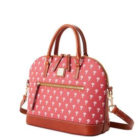 Phillies Domed Zip Satchel product Hover