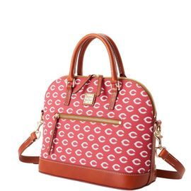 Reds Domed Zip Satchel product Hover