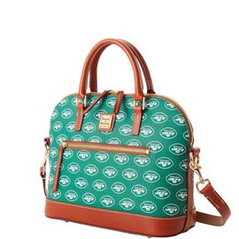 Jets Domed Zip Satchel product Hover