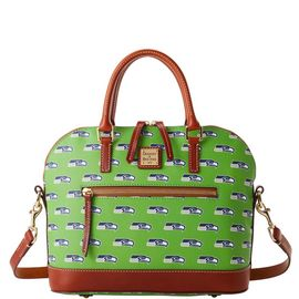 Seahawks Domed Zip Satchel product