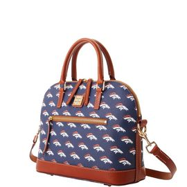 Broncos Domed Zip Satchel product Hover