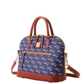Patriots Domed Zip Satchel product Hover