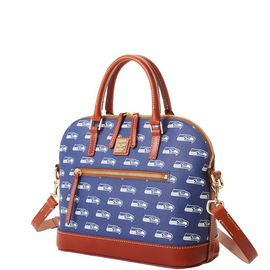 Seahawks Domed Zip Satchel product Hover