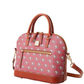 49Ers Domed Zip Satchel product Hover