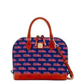 Ole Miss Zip Zip Satchel