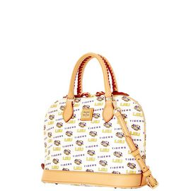 LSU Zip Zip Satchel