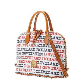 Indians Zip Zip Satchel