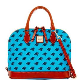 Panthers Zip Zip Satchel