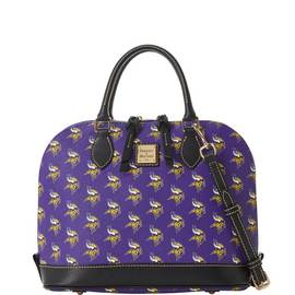 Vikings Zip Zip Satchel