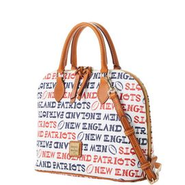 Patriots Zip Zip Satchel
