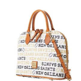 Saints Zip Zip Satchel
