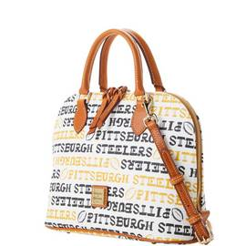 Steelers Zip Zip Satchel