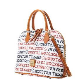 Texans Zip Zip Satchel