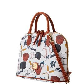Marlins Zip Zip Satchel