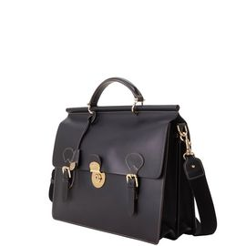 Double Gusset Buckle Briefcase product Hover