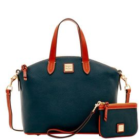 Satchel & Medium Wristlet