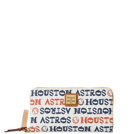 Astros Zip Around Wristlet