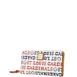 Cardinals Zip Around Wristlet