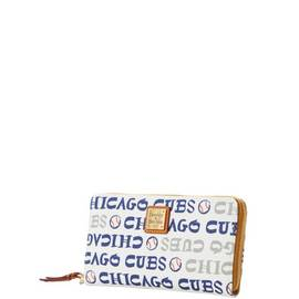 Cubs Zip Around Wristlet