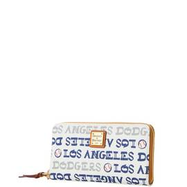 Dodgers Zip Around Wristlet