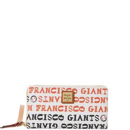 Giants Zip Around Wristlet