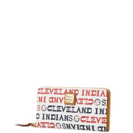 Indians Zip Around Wristlet