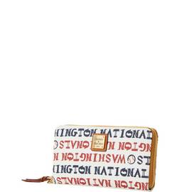 Nationals Zip Around Wristlet