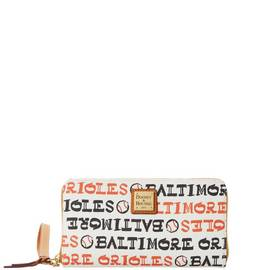 Orioles Zip Around Wristlet