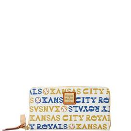 Royals Zip Around Wristlet
