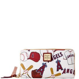 Angels Large Zip Around Wristlet