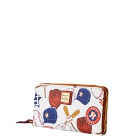 Astros Large Zip Around Wristlet product Hover