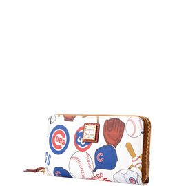 Cubs Large Zip Around Wristlet product Hover