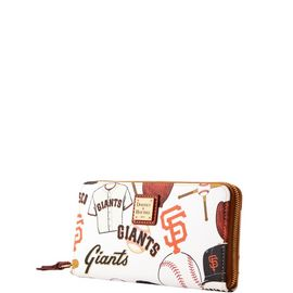 Giants Large Zip Around Wristlet product Hover