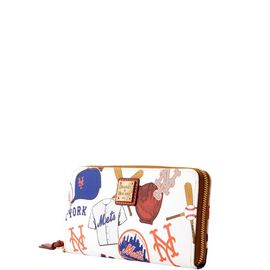 Mets Large Zip Around Wristlet product Hover