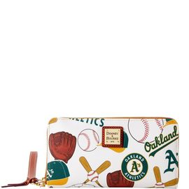 Athletics Large Zip Around Wristlet product