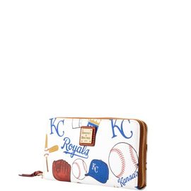 Royals Large Zip Around Wristlet product Hover