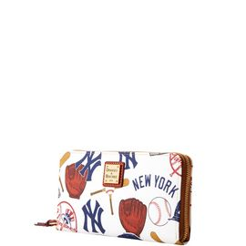 Yankees Large Zip Around Wristlet product Hover