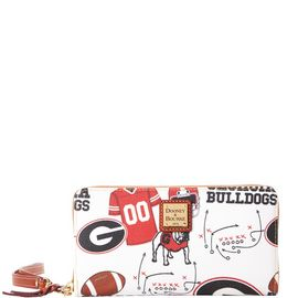 Georgia Large Zip Around Wristlet