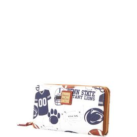 Penn State Large Zip Around Wristlet
