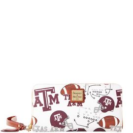 Texas A&M Large Zip Around Wristlet product