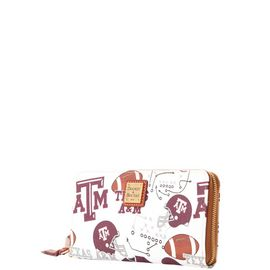 Texas A&M Large Zip Around Wristlet product Hover