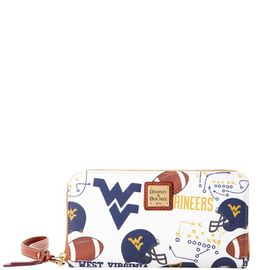 West Virginia Large Zip Around Wristlet product