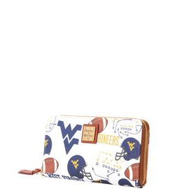 West Virginia Large Zip Around Wristlet product Hover