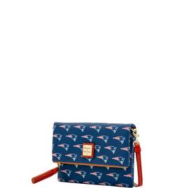 Patriots Foldover Crossbody