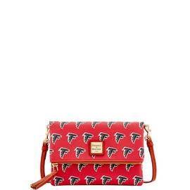 Falcons Foldover Crossbody