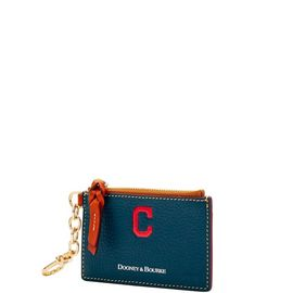 Indians Zip Top Card Case