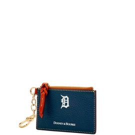 Tigers Zip Top Card Case