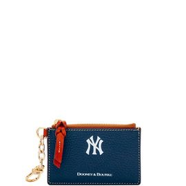 Yankees Zip Top Card Case