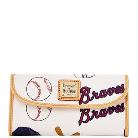 Braves Continental Clutch