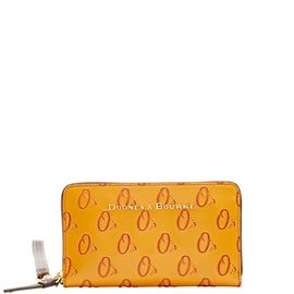Orioles Large Zip Around Phone Wristlet